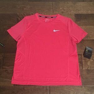 Women's Nike Dri-Fit Miler Running Top, Sz L NWT